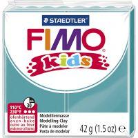 Pasta de modelar FIMO® Kids , turquesa, 42 gr/ 1 paquete