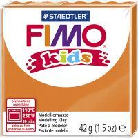 Pasta de modelar FIMO® Kids , naranja, 42 gr/ 1 paquete