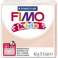 Pasta de modelar FIMO® Kids , polvo claro, 42 gr/ 1 paquete