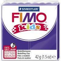 Pasta de modelar FIMO® Kids , morado, 42 gr/ 1 paquete