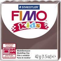 Pasta de modelar FIMO® Kids , marrón, 42 gr/ 1 paquete