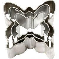 Cortador de metal, mariposas, medidas 40x40 mm, 3 ud/ 1 paquete