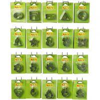 Cortadores de metal, medidas 40x45 mm, 20x5 paquete/ 1 paquete