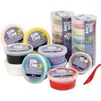 Silk Clay® , surtido de colores, 22 bote/ 1 paquete