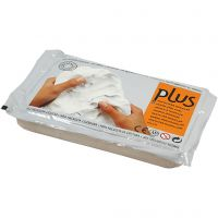Arcilla de autoendurecimiento, gris claro, 12x1000 gr/ 1 paquete