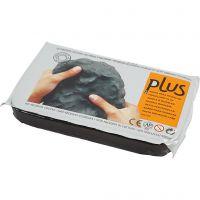 Arcilla de autoendurecimiento, negro, 1000 gr/ 1 paquete