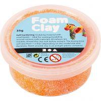 Foam Clay®, naranja neón, 35 gr/ 1 bote