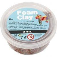 Foam Clay®, marrón, 35 gr/ 1 bote