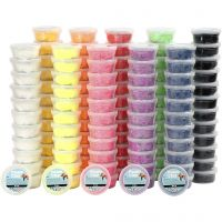 Foam Clay®, surtido de colores, 10x12 bote/ 1 paquete