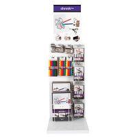Hojas de Shrink Plastic, A: 850 mm, profundidad 300 mm, A: 400 mm, surtido de colores, 154 uds de vta/ 1 paquete
