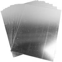Espejo de plástico, 29,5x21 cm, grosor 1,1 mm, 10 hoja/ 1 paquete
