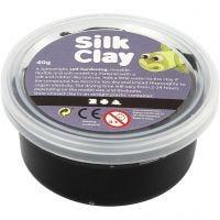 Silk Clay® , negro, 40 gr/ 1 bote