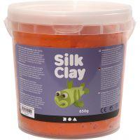 Silk Clay® , naranja, 650 gr/ 1 cubo