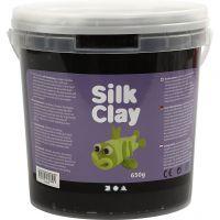 Silk Clay® , negro, 650 gr/ 1 cubo