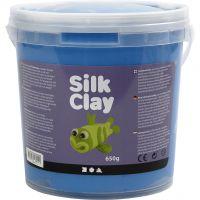Silk Clay® , azul, 650 gr/ 1 cubo