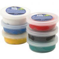 Silk Clay® , colores estándar, 6x14 gr/ 1 paquete