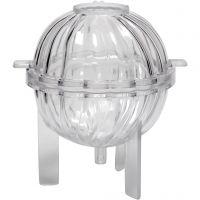 Molde para velas, esfera en espiral, A: 70 mm, 1 ud