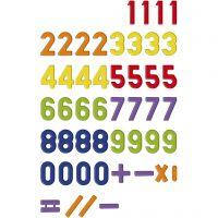 Números magnéticos, 48 ud/ 1 paquete