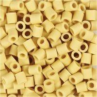 Nabbi Bio Cuentas, medidas 5x5 mm, medium, amarillo, 3000 ud/ 1 paquete