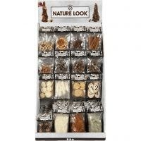 Expositor de sobremesa - Decoración natural, A: 7400 mm, A: 4400 mm, 120 uds de vta/ 1 paquete