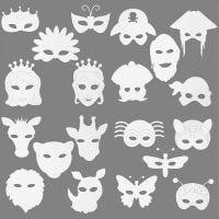 Máscaras, 64 ud/ 1 paquete