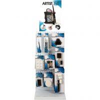 Herramientas de pintura Artist Line, A: 850 mm, profundidad 300 mm, A: 400 mm, 78 uds de vta/ 1 paquete