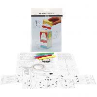 Mini Kit Creativo, monstruos y robots, 1 set