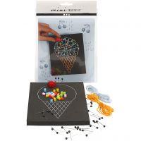 Mini Kit Creativo, Cono de helado, 1 set