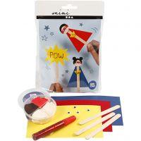 Mini Kit Creativo, Figura de palo de hielo, 1 set