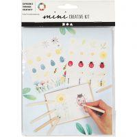 Mini kit creativo, Bichos, 1 set