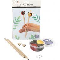 Mini kit creativo, Tapas de lápiz, 1 set