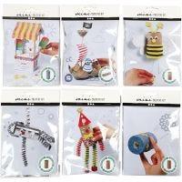 Minikits creativos, 6 set/ 1 paquete