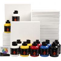 Art School, colores primario, 1 set