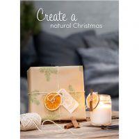 Póster, Navidad natural, medidas 21x30+29,7x42+50x70 cm, 4 ud/ 1 paquete