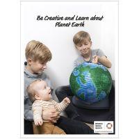 Póster, Crear y aprender sobre el planeta Tierra., 50x70, 29,7x42, 21x30 cm, 4 ud/ 1 paquete