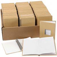 Notebooks, A6, medidas 10,5x15 cm, 3x32 ud/ 1 paquete