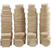 Cajas, A: 5-7,5 cm, dia: 10-18 cm, 72 ud/ 1 caja