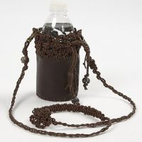 A Leather Bag for the Water Bottle