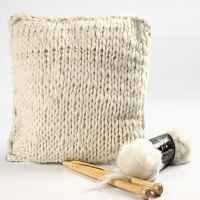 A Cushion made from Merino Wool
