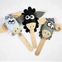 Fun Polystyrene Sheep