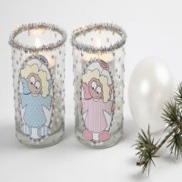 Candle Holders with Angels