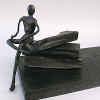 Escultura hecha de cera Cheese