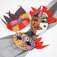 Máscaras al estilo de Cádiz
