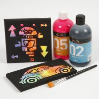 Decorating Pre-Printed Canvases