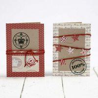 Tarjetas recicladas con diseños Vivi Gade