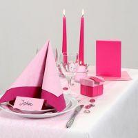 Inspiración para una fiesta en rosa y blanco