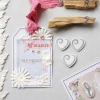 Etiqueta con papel y decoraciones diseño Vivi Gade