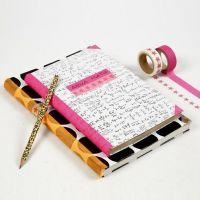 Libretas forradas con papel de regalo de Vivi Gade