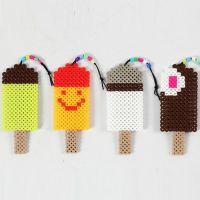 Ice Lollies made from Nabbi Beads