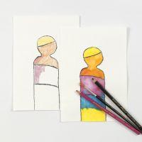 Watercolour Pencils put into Practise